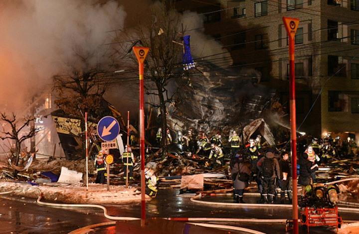 اليابان: إنفجار لم تعرف اسابه يوقع 42 جريحاً في شمال البلاد