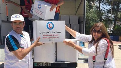 """الهلال الأحمر الكويتي يقدم مساعدات إغاثية لليمن بقيمة """"500"""" ألف دولار"""