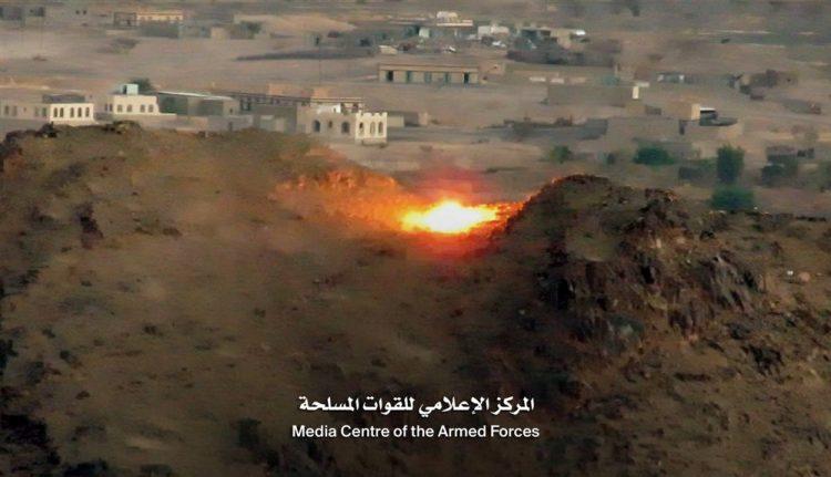 قوات الجيش تصد هجوما عنيفا للمليشيا في صرواح ومصرع 30 عنصرا حوثيا
