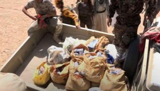 نقطة تابعة للجيش تضبط شحنة حشيش مخدر في مأرب كانت في طريقها للحوثيين