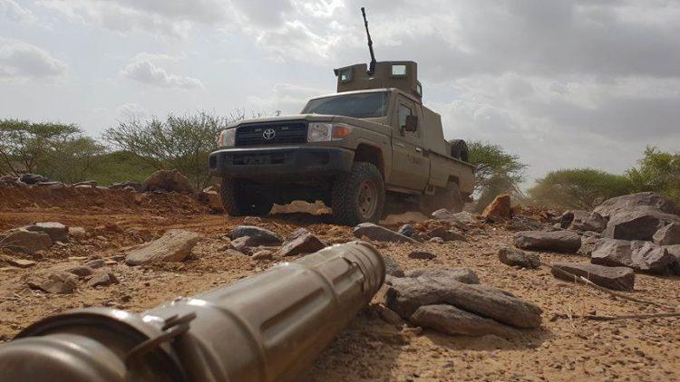 الجيش الوطني يتقدم في القبيطة بلحج ويحرر مواقع جديدة