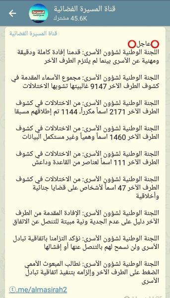 في بداية لخرق الإتفاق.. الحوثيون يتهمون الحكومة بالعمل على إفشال اتفاق تبادل الأسرى