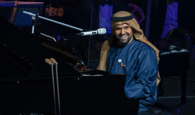 حسين الجسمي يفاجئ الحاضرين في دار اوبرا دبي بهذا الموقف