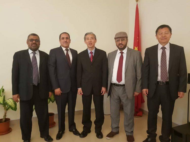 كتلة حزب الاصلاح البرلمانية تلتقي السفير الصيني لدى اليمن