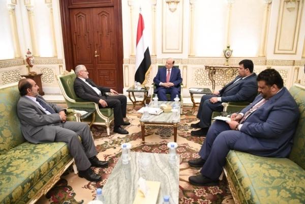 الرئيس هادي: القضاء ميزان العدل والانتصار المفضي الى الاستقرار المجتمعي