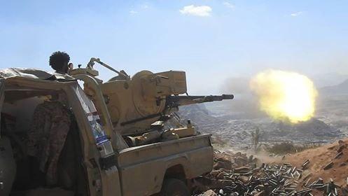 قوات الجيش تحبط محاولة تسلل للمليشيات في الملاجم ومصرع وإصابة عدد من المليشيات