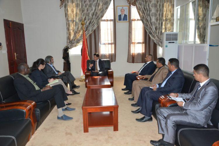 ياسر الرعيني يدعو الامم المتحدة والمجتمع الدولي للضغط على المليشيات الحوثية لتنفيذ اتفاقات السلام