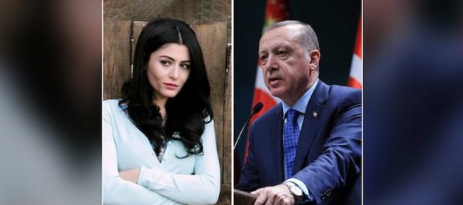 اردوغان يهاجم ممثلة تركية أهانت فتيات محجبات