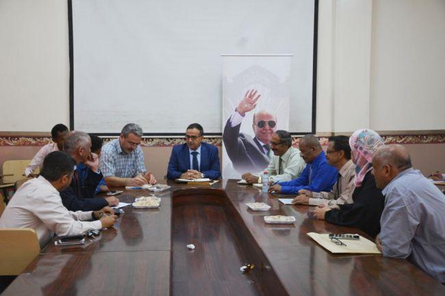 في لقائه مع مؤسسة تيكا التركية.. رئيس جامعة عدن يبحث سبل التعاون المشترك مع الؤسسة