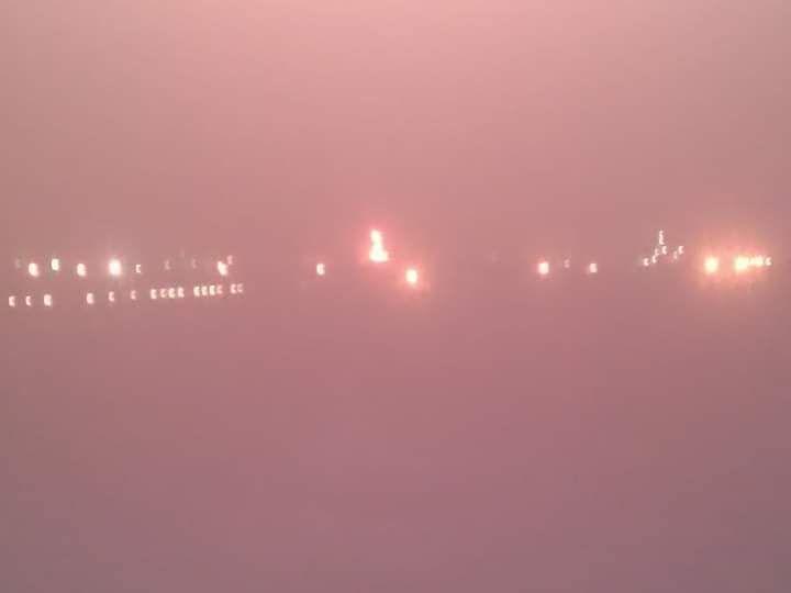 إندلاع حريق هائل في مصافي عدن يلتهم أحد الخزانات