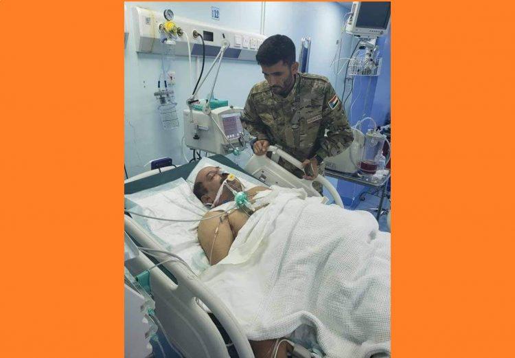 """بالصورة.. الامارات ترسل """"ابو اليمامة"""" للتأكد بنفسه من وفاة اللواء طماح بعد استهدافه بمسدس كاتم صوت في جريمة العند"""