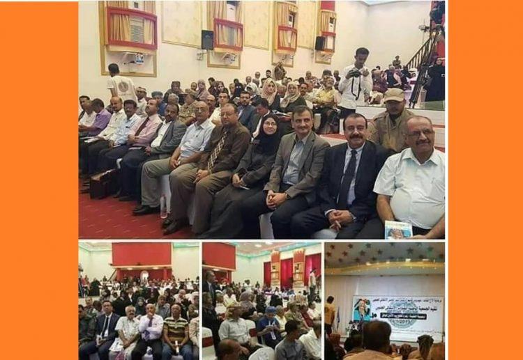 بالصورة.. قيادات المجلس الانتقالي ترفض حضور تشييع اللواء طماح وتتواجد في هذا المكان!