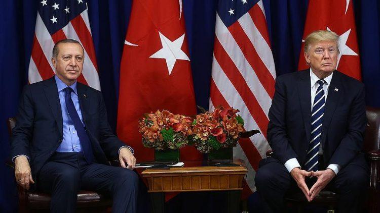 في اتصال هاتفي.. أردوغان وترامب يبحثان إنشاء منطقة آمنة شمالي سوريا