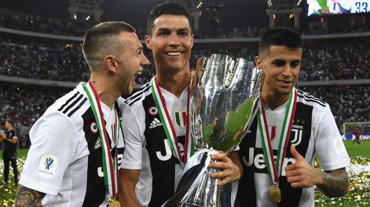 رونالدو يقود يوفنتوس للفوز بالسوبر الايطالي على حساب ميلان