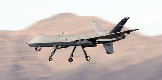 القوات الشرعية تسقط طائرة مسيرة تابعة للحوثيين في الجوف
