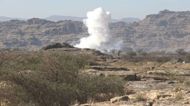 الجيش الوطني يستهدف غرفة عمليات تابعة للمليشيا في صعدة ومصرع 7 حوثيين