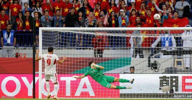 فيتنام تتغلب على الأردن وتتأهل إلى ربع نهائي كأس آسيا