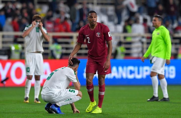 فضيحة جديدة للامارات في كأس اسيا.. رشوة إماراتية لـ97 إعلاميا عراقيا قبل مباراة قطر