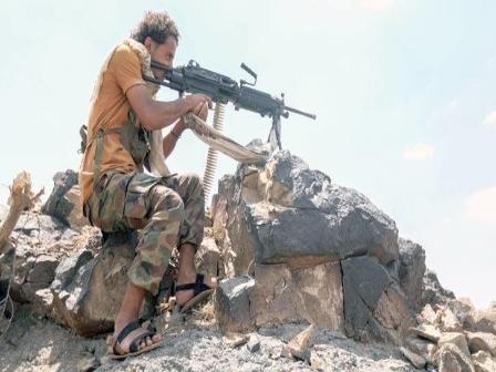 قوات الجيش تتقدم في كتاف صعدة وتحرر سلاسل جبلية جديدة