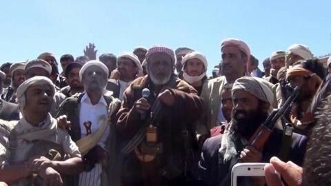 قبائل حجور تهدد الحوثيين وتمنحها 12 ساعة للإنسحاب من هذه المنطقة