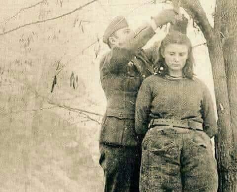 """اليوغسلافية ليبا راديج التي رفضت بيع الوطن قبل اعدامها """"صورة"""""""