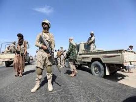 قائد عسكري يؤكد وصول قوات الجيش إلى الخط الدولي المؤدي إلى مديرية حرض