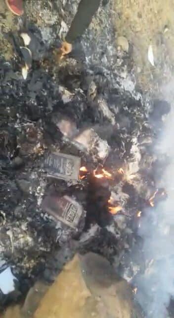 لأسباب طائفية.. مليشيا الحوثي تحرق مكتبة الجامع الكبير في بني بهلول بصنعاء