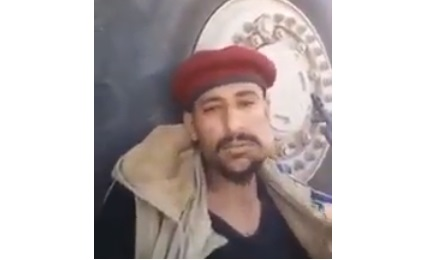 تسريب فيديو لاحد جنود الحزام الامني يعترف بدعم الحوثي في اقتحام قصر المعاشيق بعدن