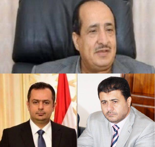الشيخ احمد العيسي يعزي رئيس الوزراء في وفاة والده السفير عبدالملك سعيد الوحش