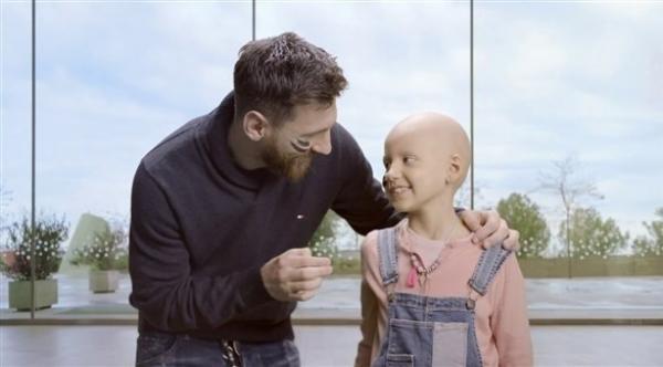"""مؤسسة """"ميسي"""" تتبرع لعلاج سرطان الأطفال في الارجنتين"""