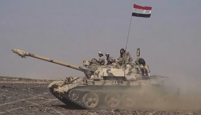 قوات الجيش تستكمل تحرير مديرية الحشاء بالضالع وتكبد المليشيات 35 قتيلا وجريحا