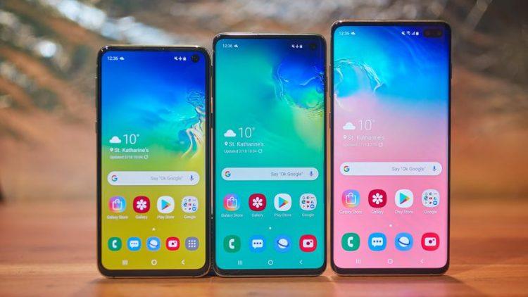 """الكشف عن اربعة انواع جديدة من هواتف سامسونج """"s10"""""""
