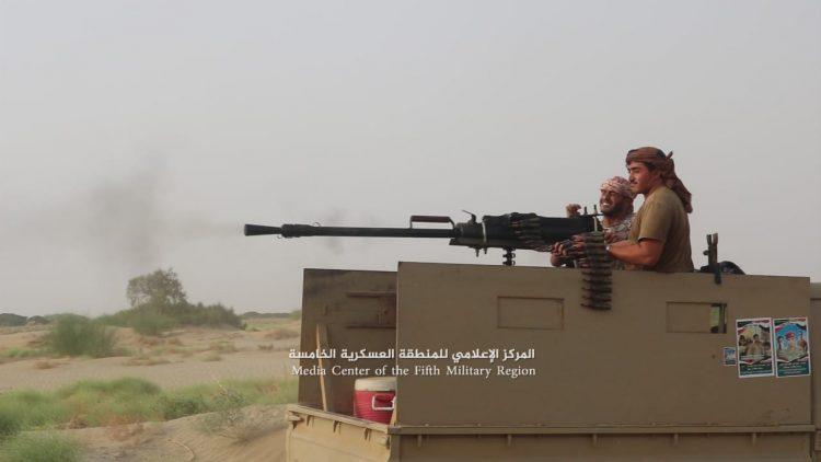 """الجيش الوطني يحرر مواقع جديدة بالقرب من مدينة حرض """"صور"""""""