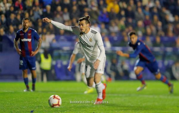 ريال مدريد يتجاوز ليفانتي بصعوبة في الدوري الاسباني