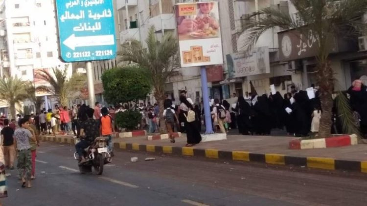 A revolution flares in Aden against UAE mercenaries