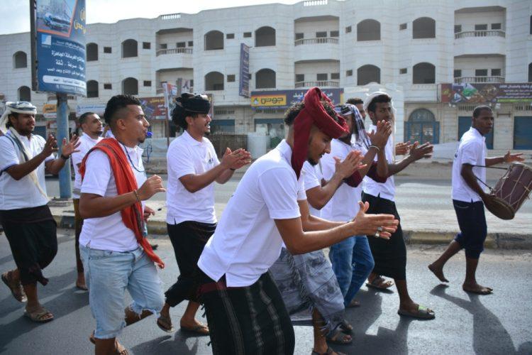 جامعة عدن تنظم مسيرة كرنفالية في فعاليات اسبوع الطالب الجامعي الـ (21)