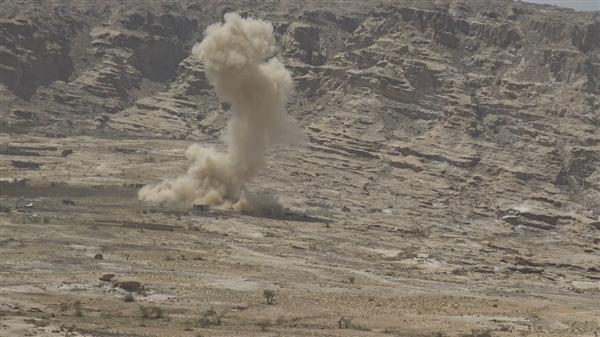 قوات الجيش تنفذ كمينا محكما في ناطع بالبيضاء وسقوط قتلى وجرحى حوثيين