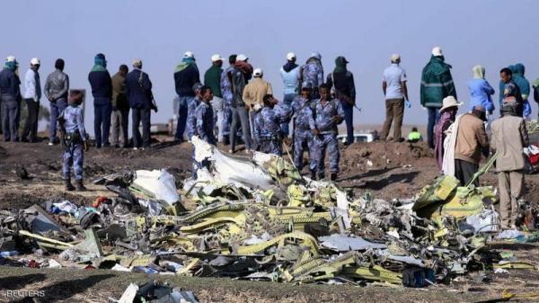 المحققون يعثرون على الصندوق الأسود للطائرة الإثيوبية المنكوبة