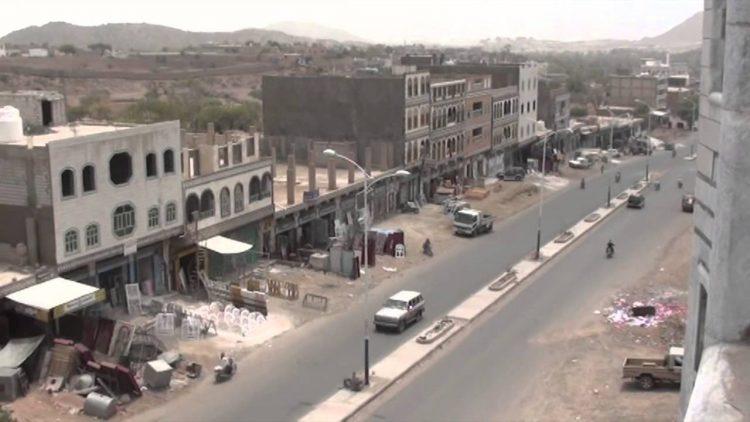 مليشيا الحوثي تستهدف الضالع بصاروخ باليستي
