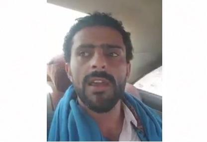 """عدن: مليشيات الامارات تستجيب لأوامر احمد علي صالح وتقوم بحماية الناشط المؤتمري عيسى العذري """"فيديو"""""""