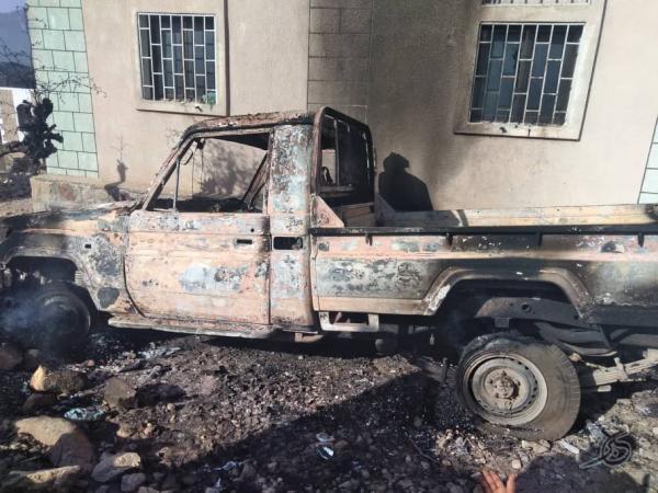 مقاومة الحشاء تصد هجوما لمليشيا الحوثي وتكبدها خسائر فادحة