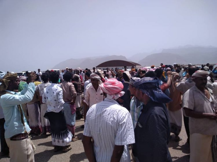 Protests in Socotra against UAE militias