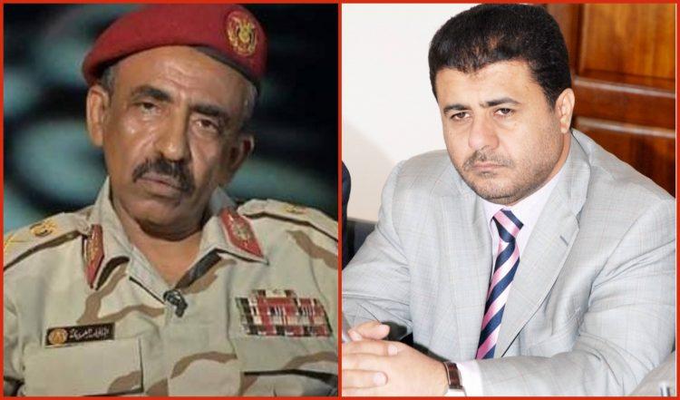 الشيخ احمد العيسي يعزي في وفاة اللواء عبدالقادر العمودي