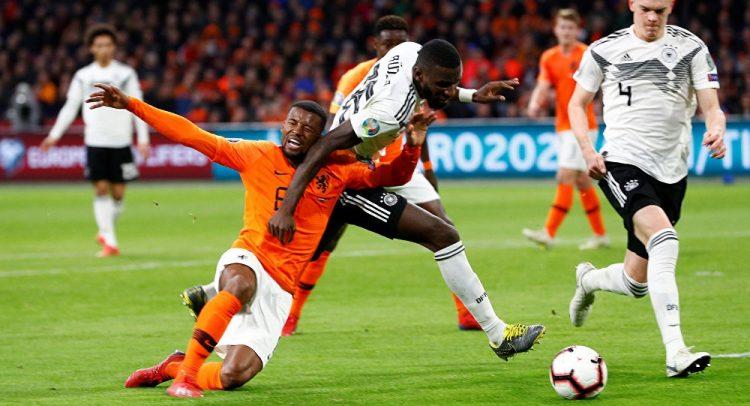 ألمانيا تحتل المركز الثاني بفوزها على هولندا في تصفيات أمم أوروبا