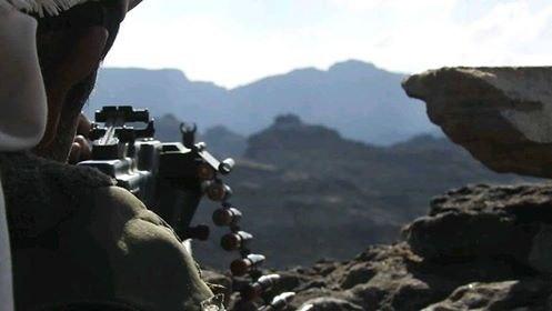 قوات الجيش الوطني تحبط محاولة تسلل لمليشيا الحوثي في الضالع