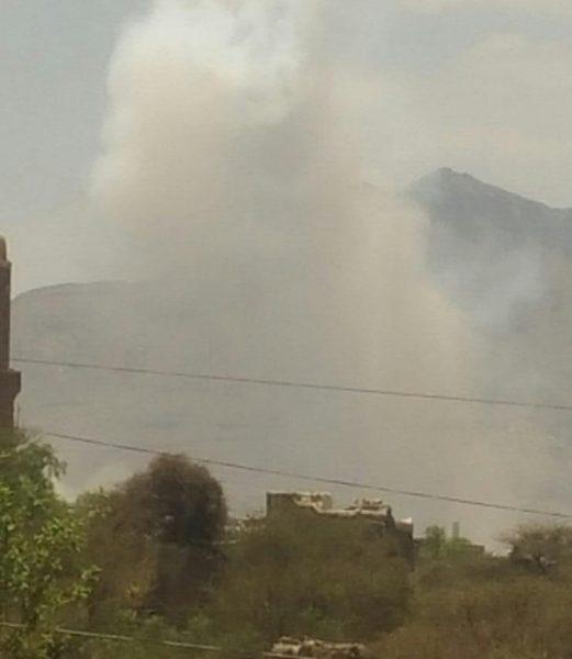 يُعتقد بأنه مخزن أسلحة.. انفجار عنيف يهز منطقة سعوان بصنعاء قبل قليل