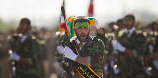 مسلحون مجهولون يقتلون ثلاثة أعضاء في الحرس الثوري الإيراني