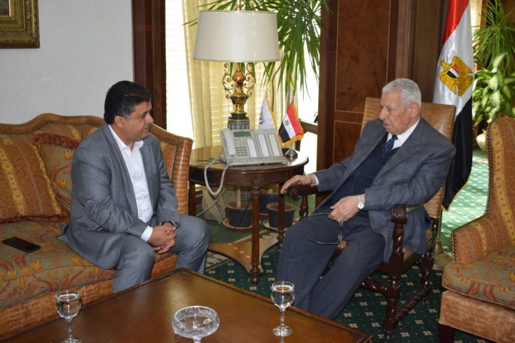 Sheikh Al-Eisy meets chairman of Egyptian Media Authority in Cairo