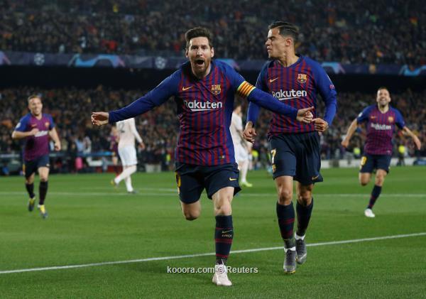 ابطال اوروبا.. ميسي يقود برشلونة إلى نصف النهائي.. واياكس يقصي يوفنتوس