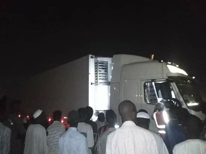 Sudanese demonstrators expel Emirati aid truck from sit-in site